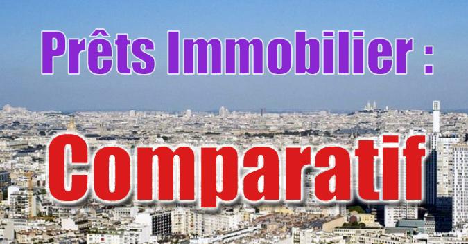 Comparatif pret immobilier