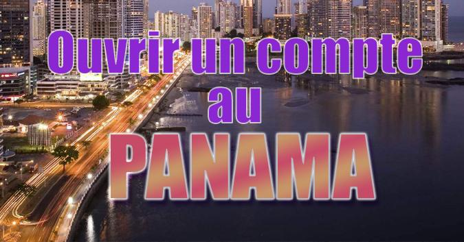 compte bancaire au Panama
