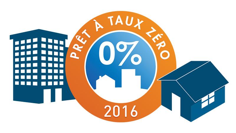 Le prêt à taux zéro : PTZ 2016 à 0%