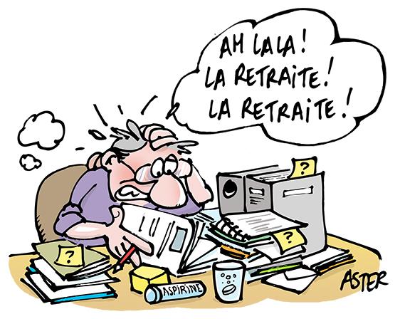 L'inquiétude des français augmente par rapport au montant de leur retraite