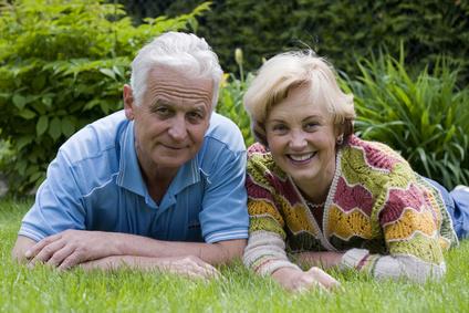 Senior couple - 42 years in love